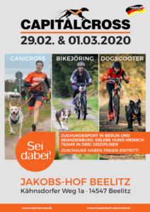 CapitalCross Canicross-Rennen Berlin